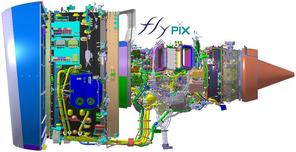 Bon à tirer pour fabrication d'un ballon en PVC 0,18 mm sur mesure: moteur d'avion.